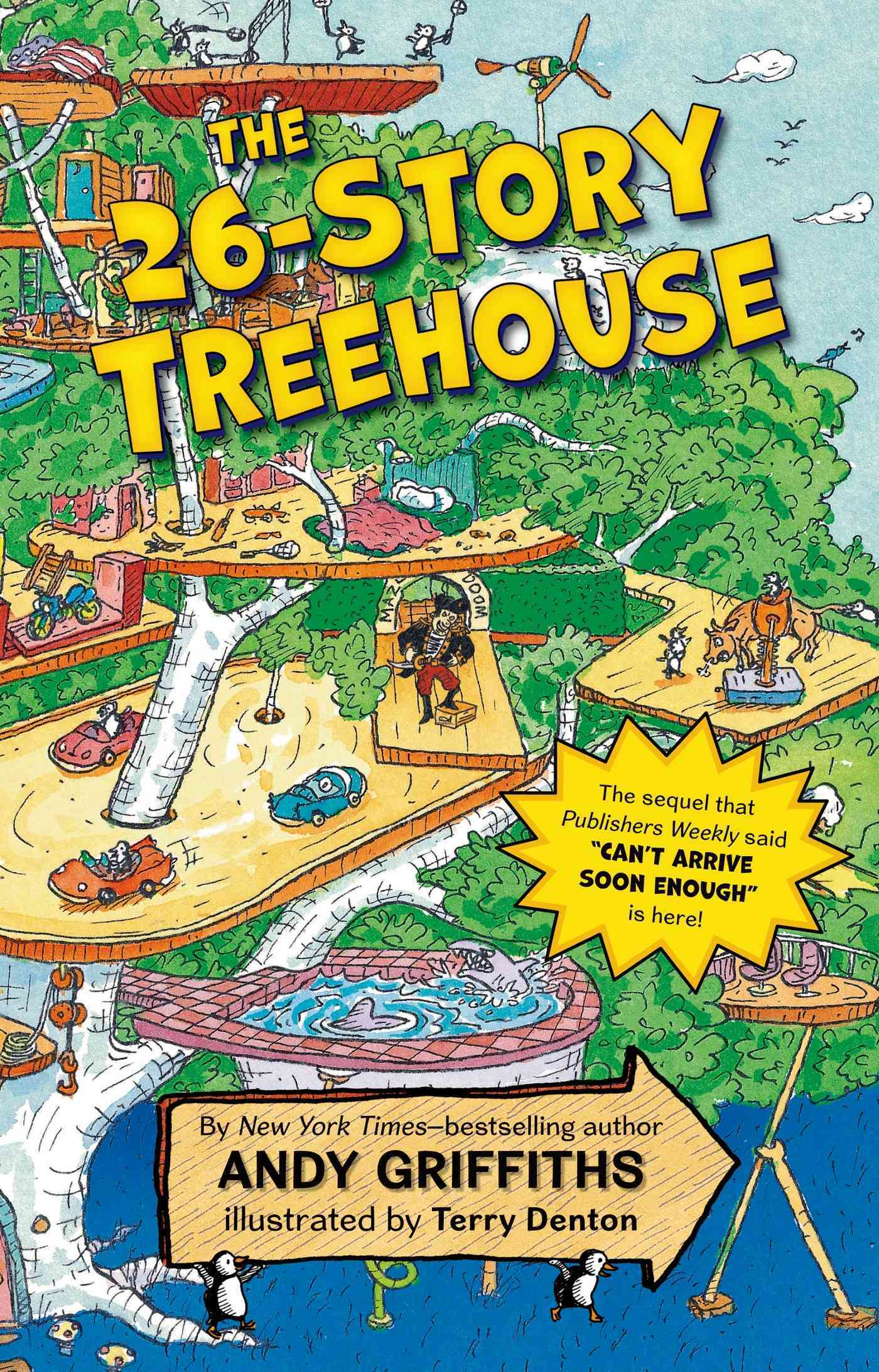 The 26-story Treehouse By Griffiths, Andy/ Denton, Terry (ILT)